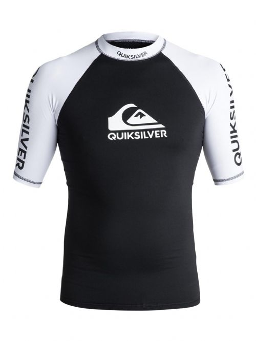 QUIKSILVER MENS RASH VEST.NEW ON TOUR UPF50 SUN PROTECTION TOP T SHIRT 7W 5 KVJO